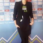 23.02.2014 Hostese Agencija 22 na videokonferenci žreba kval.skupin za nastop na Euru 2016.