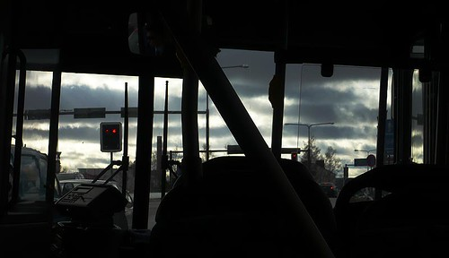 Linja-autossa