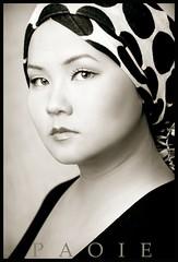 Simply Chong (PAOIEphotography) Tags: portrait woman beautiful beauty sepia asian polkadots strong emotional elegant hmong