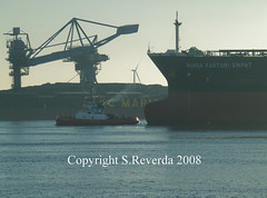 Giants passing eachother (sjoerd_reverda) Tags: port rotterdam tug channel caland
