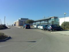 Estació de tren de l'Aldea