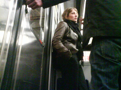 Argument in the metro