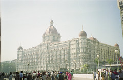 Taj hotel (Jennifer Kumar) Tags: hotel taj bombay mumbai negativescan india1998