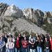 Saint Anselm College SBA visit to Mount Rushmore