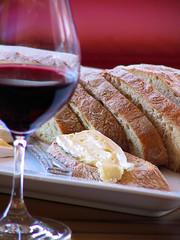 Domaine de l'Arlot bread