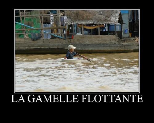 Gamelle flottante