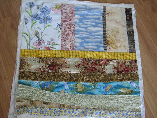 back ground for doll quilt swap quilt
