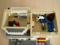 curryhouse (7) (Mad physicist) Tags: apartment lego interior british minifig indianrestaurant curryhouse modularbuilding