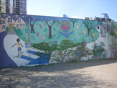 Learning Center for Children Mural by Unknown