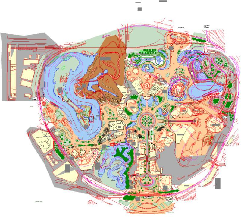 Walts original Disneyland concept sketches rediscovered