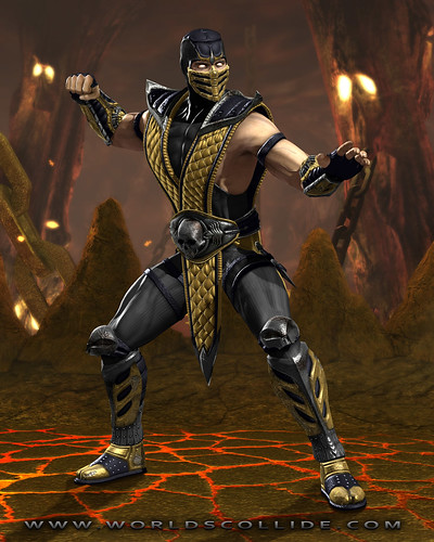 mortal kombat scorpion. Mortal Kombat Vs. DC Universe