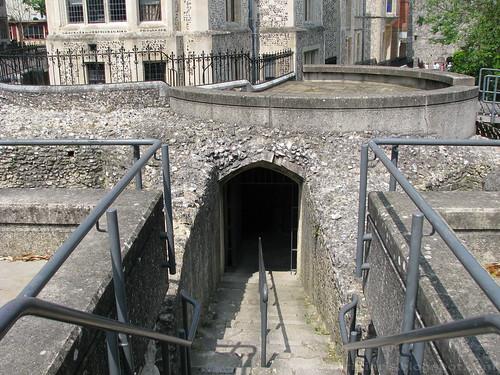 Winchester Castle Ruins