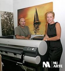 Alex Veccia and Angela Hill of Nu-Arte