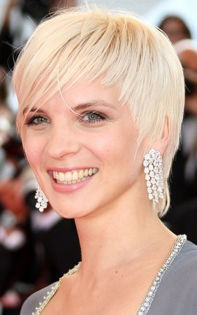 Celebrity Short Blonde Haircuts for Women