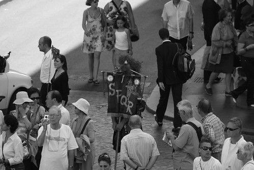 Rome - Spanish Steps Gladiator 1