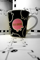 milk lovers II (Honey Pie!) Tags: cup cutout milk caneca leite cybershotdscs650