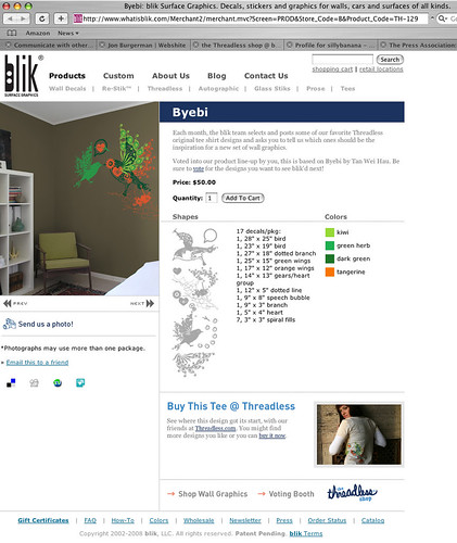 my design BYEBI for blik_us