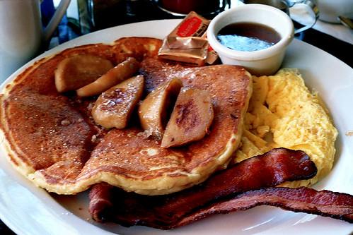 Basix Cafe - Apple Pancakes