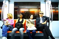 No Comunication (Matteo Maggini) Tags: people underground metropolitana