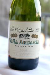 2000 La Rioja Alta Viña Ardanza Reserva