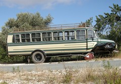 Abandoned Bus, Troodos, Cyprus (ynysforgan_jack) Tags: pictures vacation holiday abandoned rural photo nikon rust holidays image photos picture rusty cyprus images coolpix rusting 2008 vacations ruraldecay decayed decaying troodos zypern troodosmountains abandonedbus p5100
