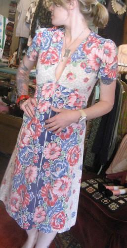 30s House Dress