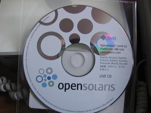 Open Solaris gratis y a casa!!