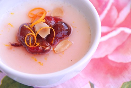 cherry panna cotta no fruit