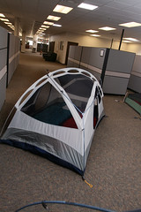 Tents in the Office 2 (TinyTall) Tags c&ing corporate tents office cubicle tent & The Worldu0027s newest photos of camping and cubicle - Flickr Hive Mind