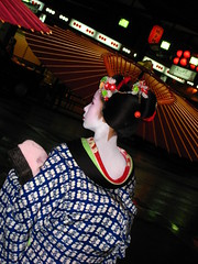 Maikos 5 - I fumbled to capture her breathtaking profile (...what my soul sees...) Tags: japan flickr gion asianstyle mamehama