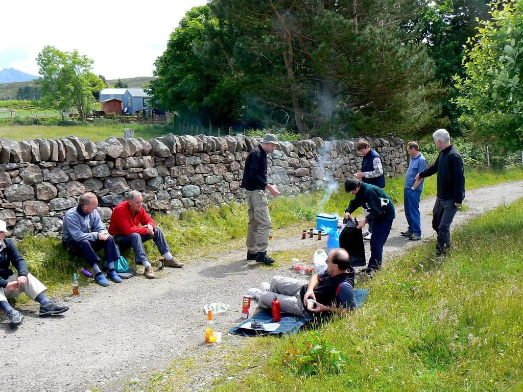 Barbeque at Poolewe