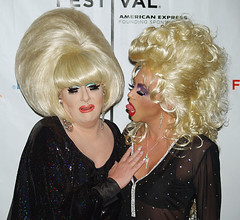 Lady Bunny and Sherry Vine (david_shankbone) Tags: photographie creativecommons stockphotos wikipedia publicart fotografia dragqueen bild stockimages  ladybunny stockphotography  tonguestickingout publicphotography    sparklydresses fotoraf    sherryvine wikimediacommons   freephotos  freeimages  fnykpezs  nhipnh     bydavidshankbone  shankboneorg      tvrspoleenstv  kreativflled schpferischesgemeingut   kreatvkzjavak          puortgrapj