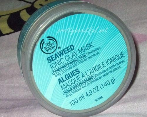 bodyshop seaweed ionic clay mask