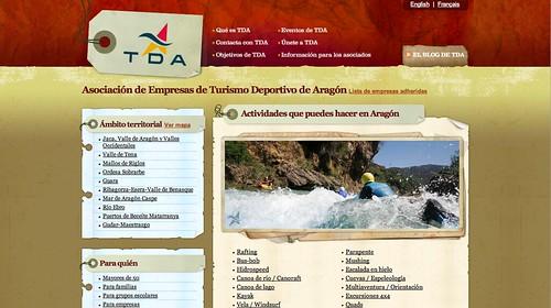 Sitio web de TDA