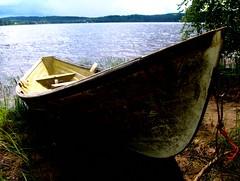 (FriaLOve) Tags: blue lake green finland boat woods shine ruovesi abigfave frialove
