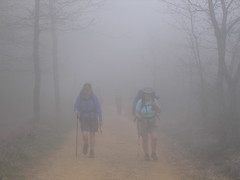 """Ellen and Anne in the Mist • <a style=""""font-size:0.8em;"""" href=""""http://www.flickr.com/photos/48277923@N00/2621881499/"""" target=""""_blank"""">View on Flickr</a>"""