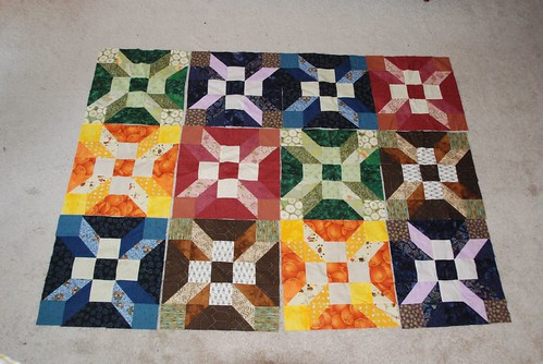 Mystery Quilt Blocks