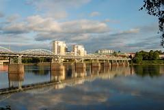 Bridge (Rudi Pauwels) Tags: bridge sweden umeå sverige bro pictureperfect umeälven västerbotten bej nikond80 projekt365 platiniumheartaward goldstaraward