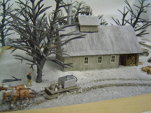 New England Sugar House HO scale Kit# CLD-HO-007