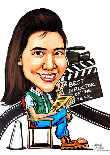 Caricature theme - movie director