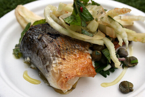 Sea bass from Fishworks