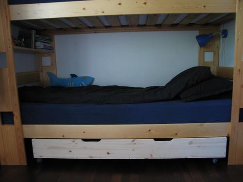 Homemade under bed storage drawer 2