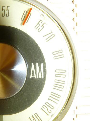 Clock Radio Dial