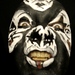 Kiss Facepainting Mini Movie! por hawhawjames