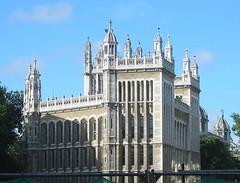 Frills and Furbelows (Crowcombe Al) Tags: london kingscollegelondon maughanlibrary newfetterlane frillsandfurbelows 19thcenturygothic