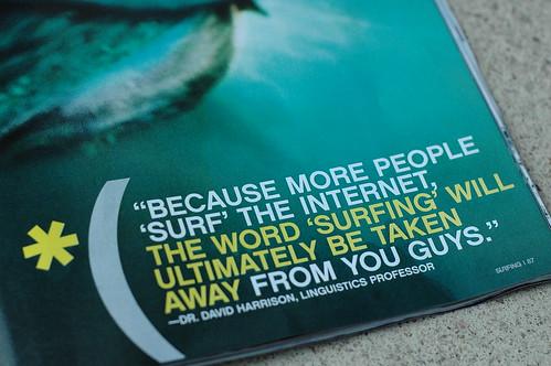 Surf Typograophy