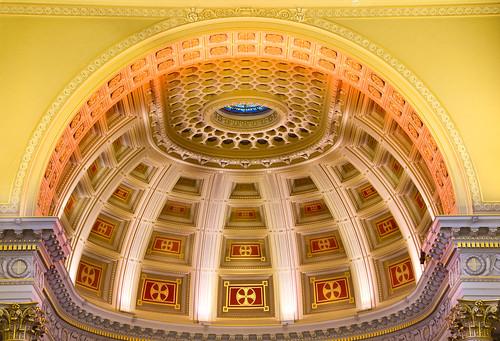 Dome of St Ignatius Church