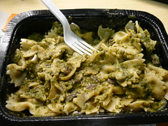 Moosewood Farfalle & Spinach pesto