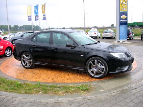 Saab 9-3 Turbo X in Serbia
