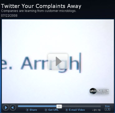 Twitter on ABC